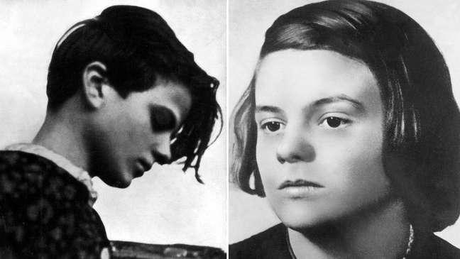 Inicialmente, ainda adolescente, Sophie Scholl apoiou Hitler, mas suas opiniões mudaram