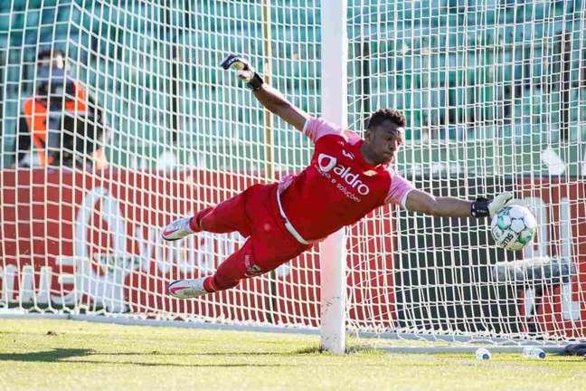 Brasileiro tem sido um dos destaques do time português na temporada (Telmo Mendes/Paços de Ferreira)