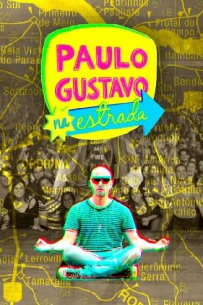 Pôster da série 'Paulo Gustavo na Estrada'