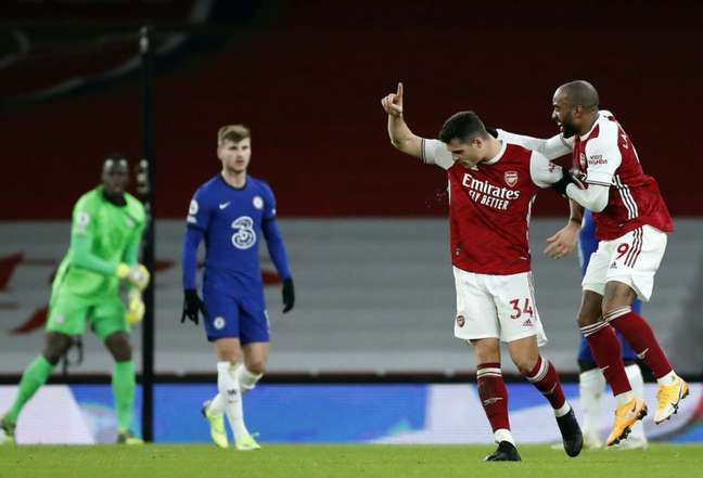 Chelsea e Arsenal se enfrentam neste quarta-feira (Foto: ANDREW BOYERS / POOL / AFP)