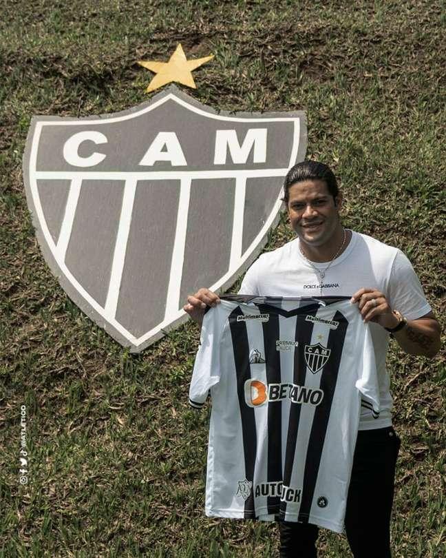 Atlético-MG é segundo o clube que mais investiu em reforços, atrás do Flamengo (Foto: Divulgação/CAM)