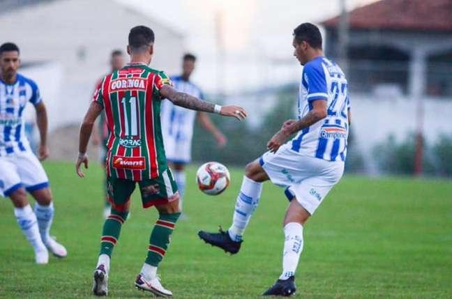Times empataram em 1 a 1 no interior de Alagoas (Augusto Oliveira/CSA)