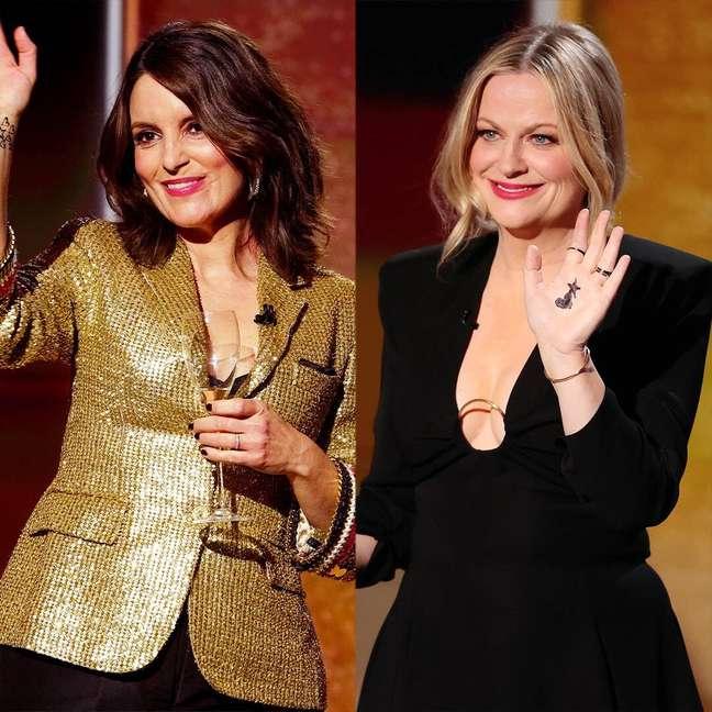 Tina Fey e Amy Poehler apresentam o Globo de Ouro 2021