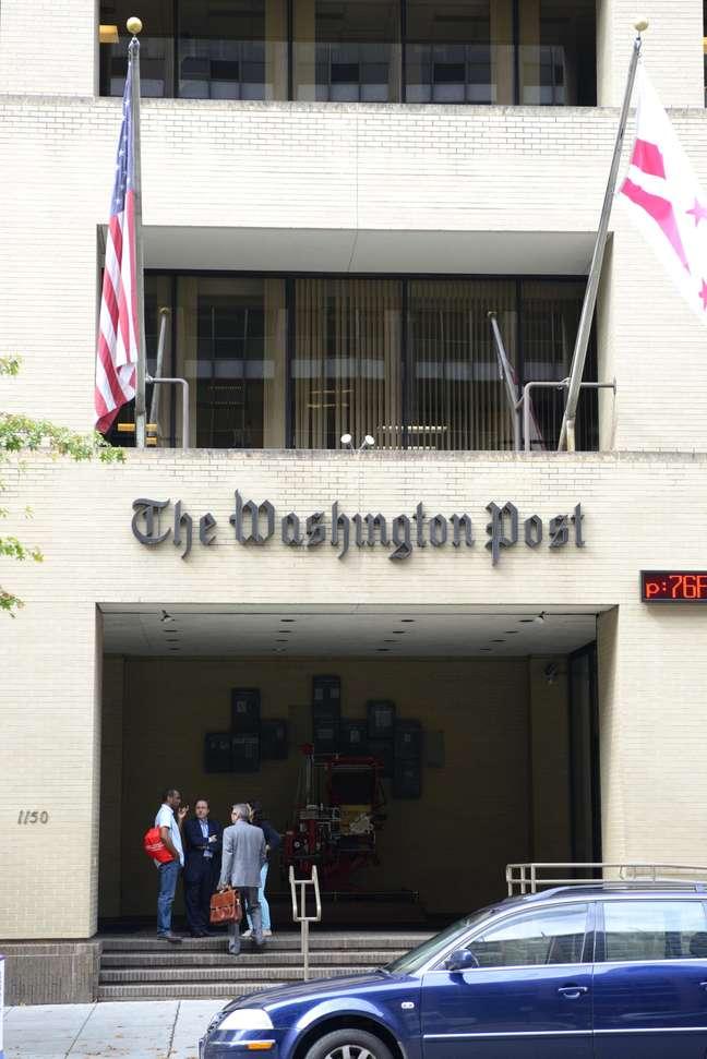 Sede do jornal The Washington Post na cidade de Washington, EUA