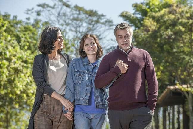 """Mariana Lima, Letícia Colin e Fábio Assunção em """"Onde Está Meu Coração"""""""