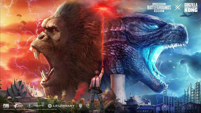 PUBG Mobile - Godzilla vs Kong