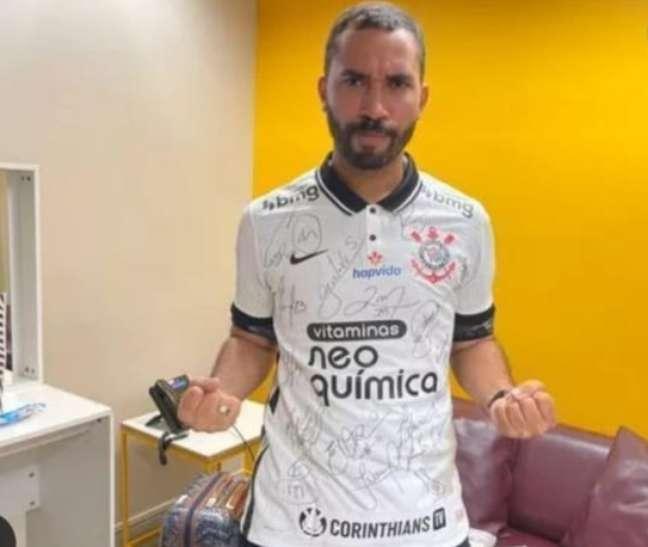 Gil do Vigor é corintiano e também torce para o Sport, de Recife