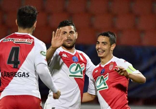 Monaco goleou o Rumilly Vallièresnesta quinta (Foto: PHILIPPE DESMAZES / AFP)