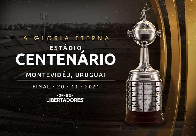 Final da Libertadores será disputada em 20 de novembro