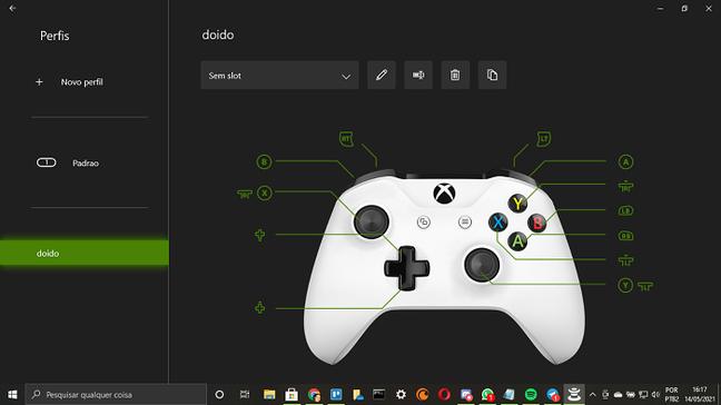 Como remapear os controles do Xbox One e Series no PC