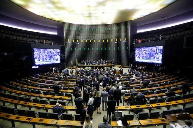 Plenário da Câmara dos Deputados REUTERS/Adriano Machado