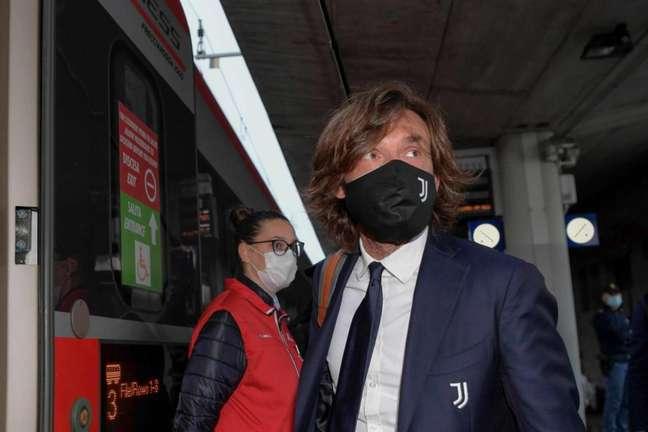 Pirlo é o técnico da Juventus (Foto: Divulgação / Twitter oficial da Juventus)