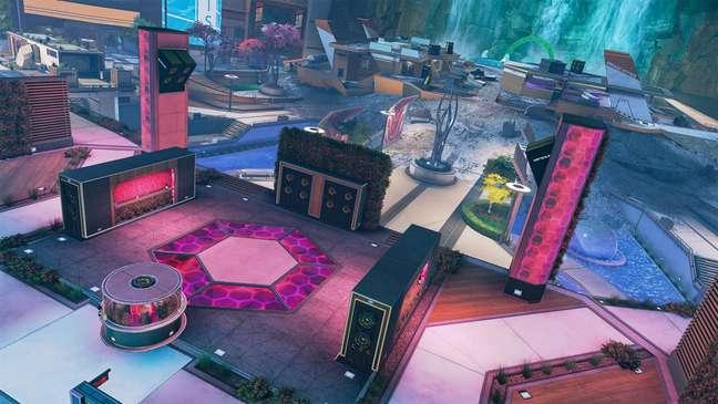 Mapa do modo Arena