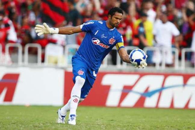 Com o Flamengo, Bruno foi campeão do Brasileirão em 2009 (Foto: LANCE!Press)