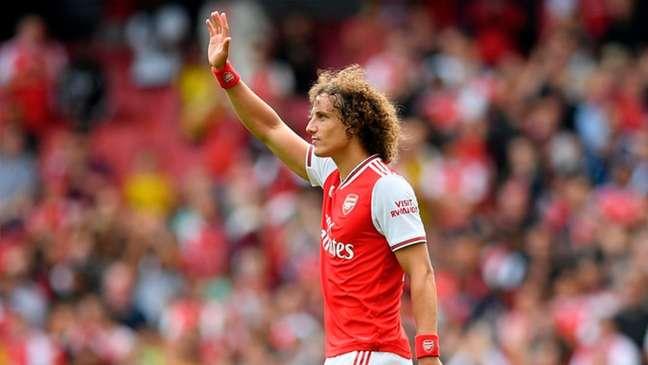 David Luiz viveu altos e baixos com a camisa do Arsenal (Foto: Daniel LEAL-OLIVAS/AFP)