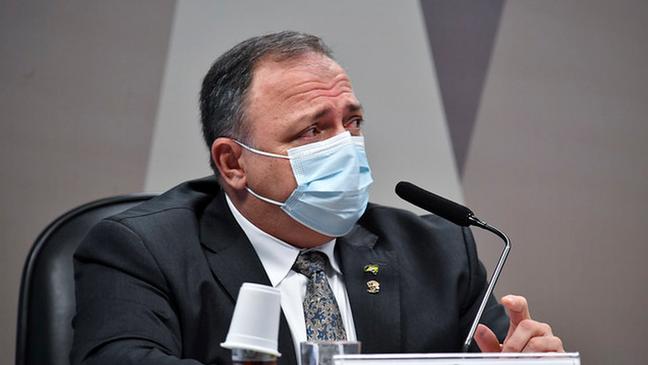 Depoimento de Eduardo Pazuello {a CPI da covid-19 durou dois dias