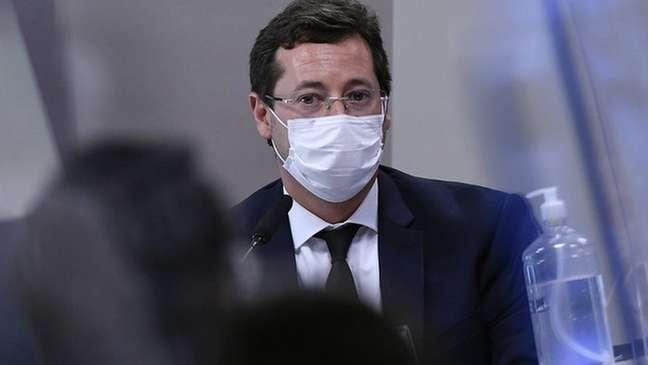 Em depoimento, Fabio Wajngarten afirmou que campanhas educativas eram de responsabilidade do Ministério da Saúde