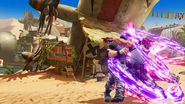 The King of Fighters XV - Arena do Metal Slug