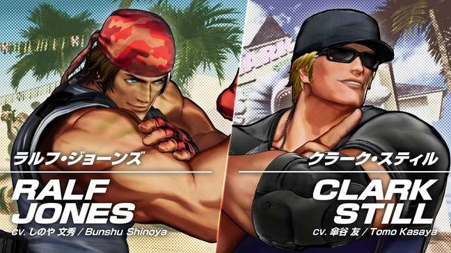 The King of Fighters XV - Ralf e Clark