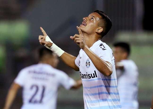 Grêmio vence o Aragua por 6 a 2, na Venezuela.