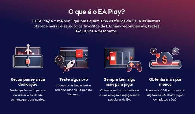 Detalhes do EA Play