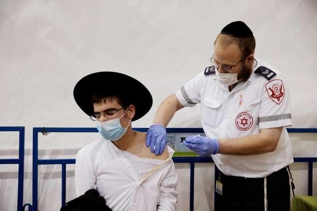 Vacinação em Israel