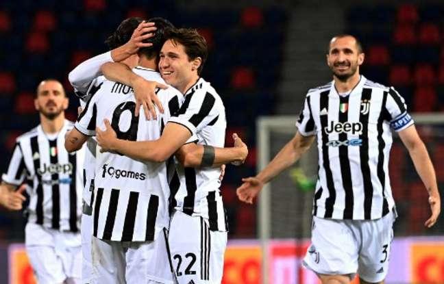 Juventus venceu o Bologna pelo Italiano (Foto: ANDREAS SOLARO / AFP)
