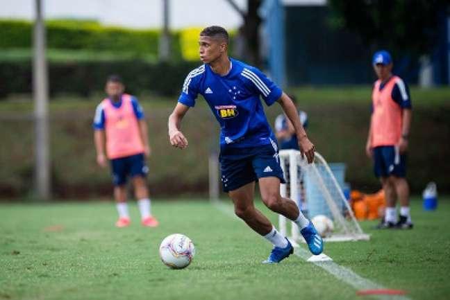 Será o terceiro time de Rafael Santos em menos de um ano, sem ser aproveitado no Cruzeiro-(Bruno HaddadCruzeiro)