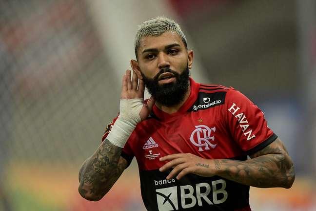 Gabigol está em rota de colisão com a diretoria do Flamengo