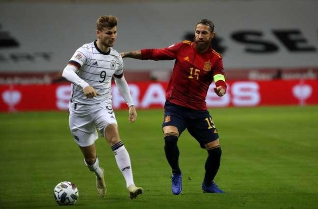 Ramos não joga pela Espanha na Eurocopa (Foto: Divulgação / Federação Espanhola de Futebol)
