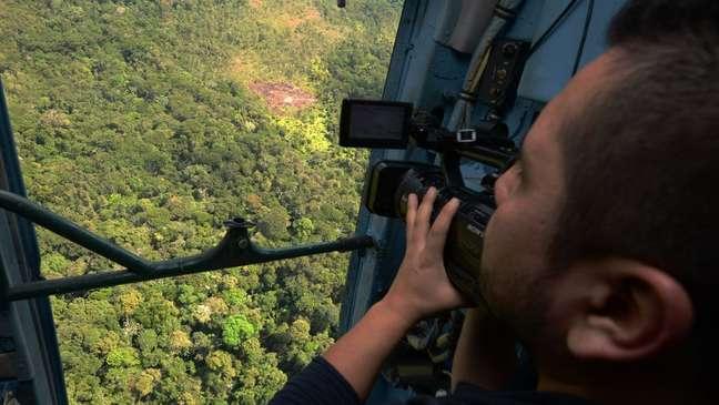 Ataque aconteceu na região do Vale dos Rios Apurímac, Ene e Mantaro (VRAEM), na foto observada por jornalista