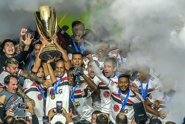 São Paulo, que conquistou o Paulista 2021, já garantiu vaga às oitavas de final da Libertadores