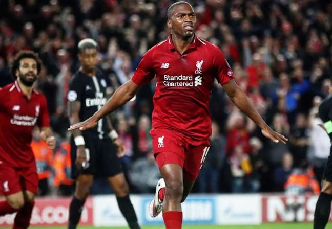 Sturridge pelo Liverpool (Reprodução/Instagram)