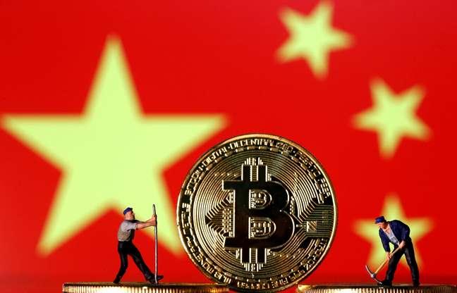 Essa é a primeira vez que a China teve como objetivo a mineração de moeda virtual.