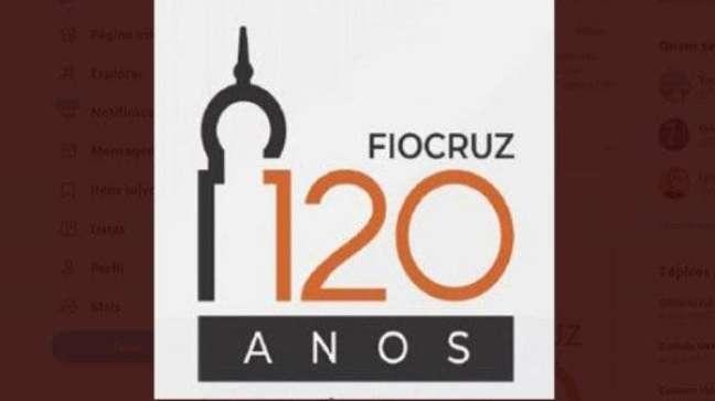 O logotipo da Fiocruz faz referência ao prédio que a instituição ocupa, no Rio de Janeiro, e pode ter confundido Mayra Pinheiro