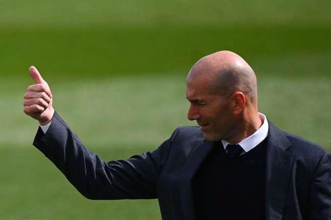 Zidane está de saída do Real Madrid (Foto: GABRIEL BOUYS / AFP)
