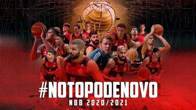 Flamengo heptacampeão do NBB