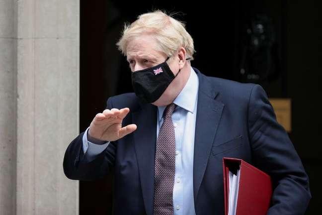 Premiê britânico, Boris Johnson REUTERS/Hannah McKay