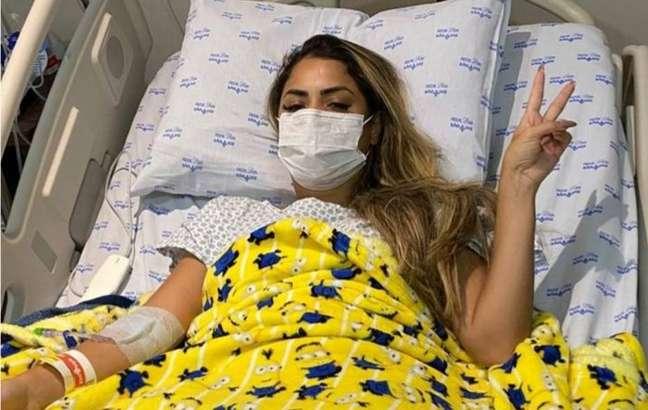 Lexa foi internada no Hospital São Luiz