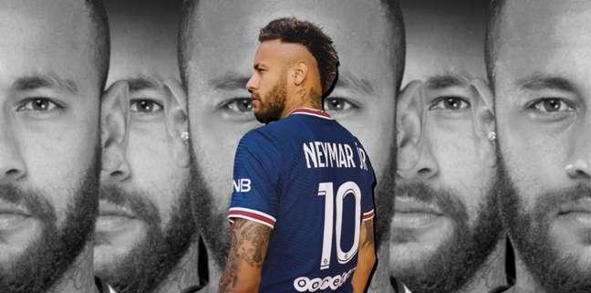 Mais uma vez, Neymar se vê prejudicado não por um adversário em campo, e sim por ele próprio
