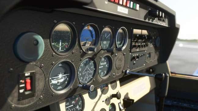 Flight Simulator tem tamanho reduzido