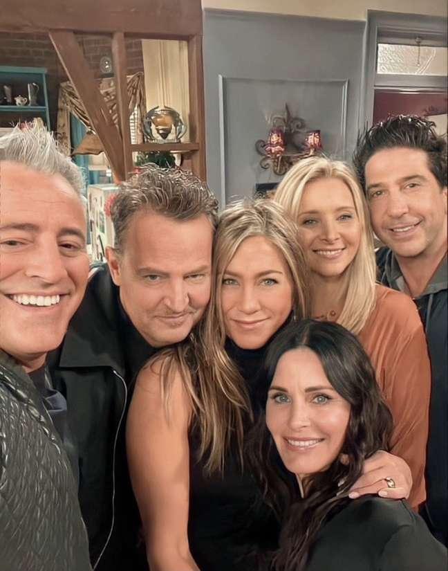 Elenco de Friends se reuniu para especial da HBO Max