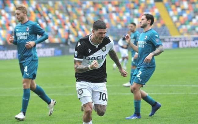De Paul pode estar de saída da Udinese (Foto: Divulgação / Site oficial da Udinese)