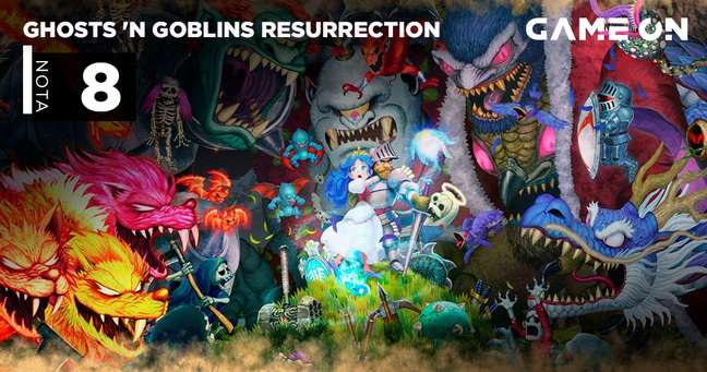 Ghosts n' Goblins Ressurrection  - Nota 8