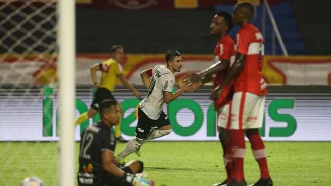Willian fez seu gol de número 62 pelo Verdão, igualando Paulo Nunes na artilharia do clube (Cesar Greco / Palmeiras)
