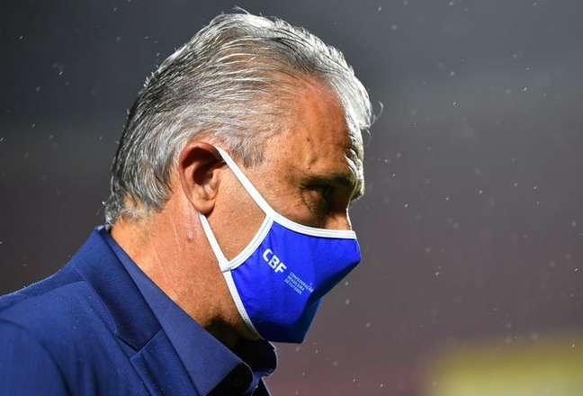 Técnico Tite tem situação indefinida na Seleção 13/11/2020 Nelson Almeida/Pool via REUTERS