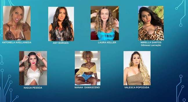Confira o elenco feminino.