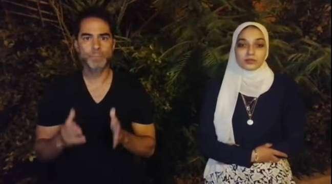 Depois de ser preso por assediar verbalmente uma vendedora local, Sorrentino divulgou o vídeo em que pede desculpas à vítima.