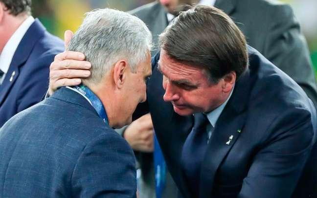 Bolsonaro quer a cabeça de Tite da Seleção Brasileira (Foto: Andre Melo Andrade/AM Press)