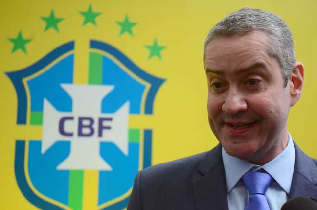 Rogerio Caboclo foi afastado do cargo de presidente da CBF
